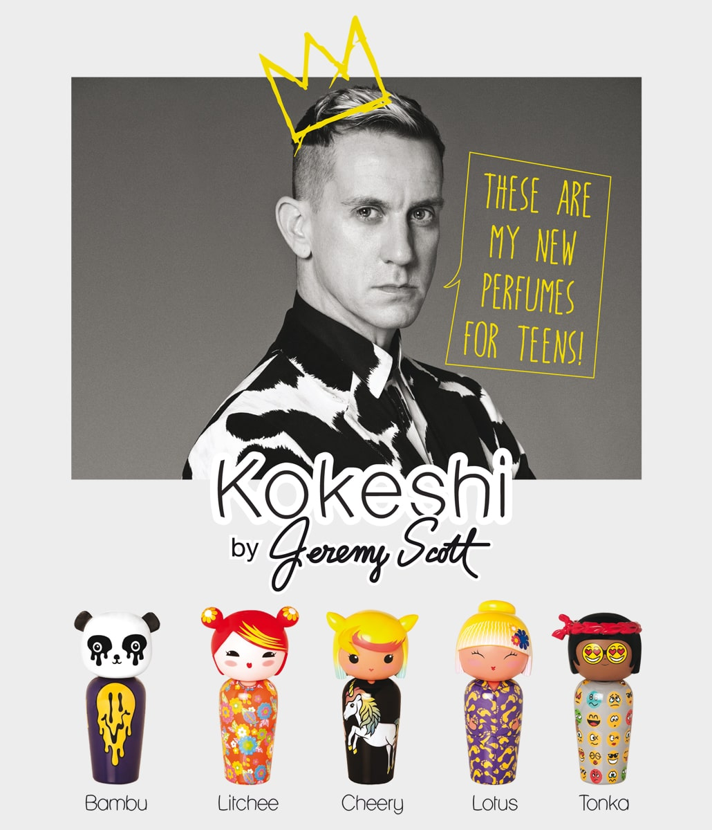 Kokeshi by Jeremy Scott - Marques enfants