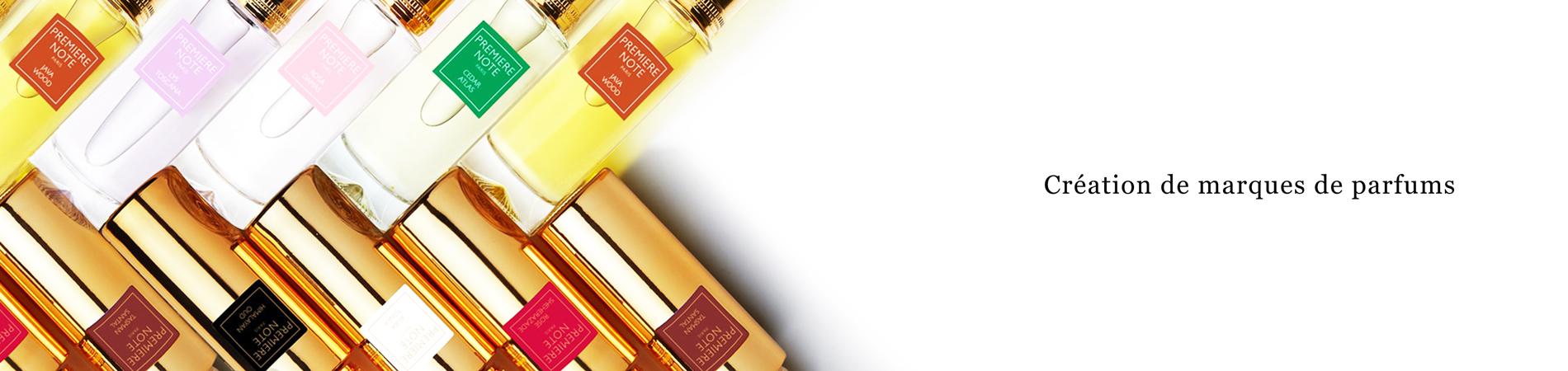 Création de marques de parfums